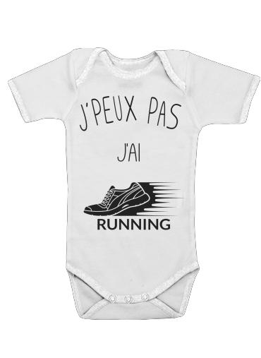 Onesies Baby Je peux pas jai running