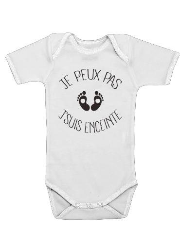 Onesies Baby Je peux pas je suis enceinte