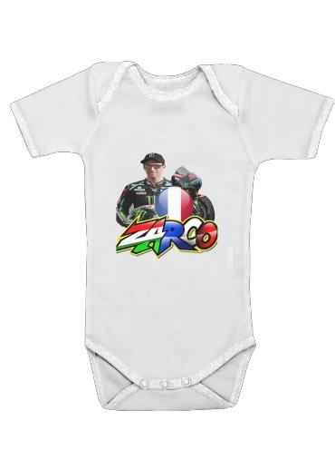 johann zarco moto gp dla Baby short sleeve onesies