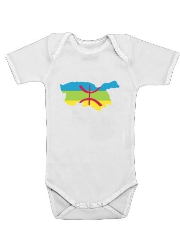 Kabyle dla Baby short sleeve onesies