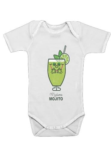 Madame Mojito för Baby short sleeve onesies