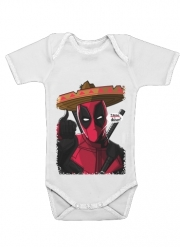 Baby Onesie Mexican Deadpool