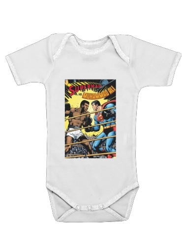 Onesies Baby Muhammad Ali Super Hero Mike Tyson Boxen Boxing