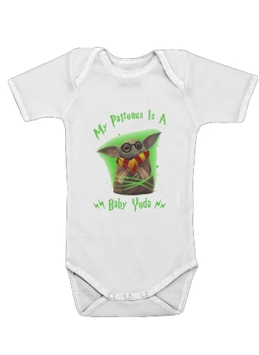 Onesies Baby My patronus is baby yoda