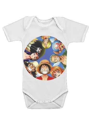 One Piece CREW dla Baby short sleeve onesies