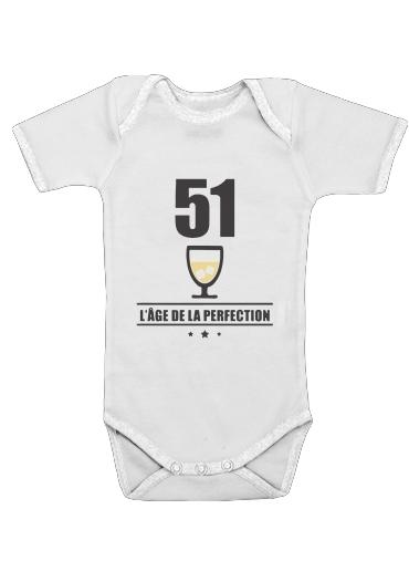 Onesies Baby Pastis 51 Age de la perfection