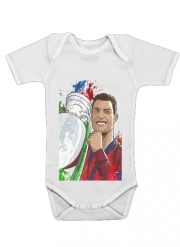 Baby Onesie Portugal Campeoes da Europa