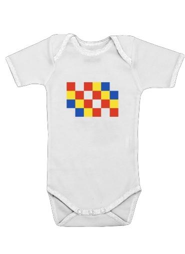 Province Anvers dla Baby short sleeve onesies