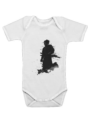 Samurai för Baby short sleeve onesies