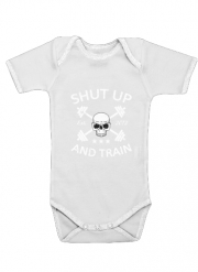 Body Bébé manche courte Shut Up and Train