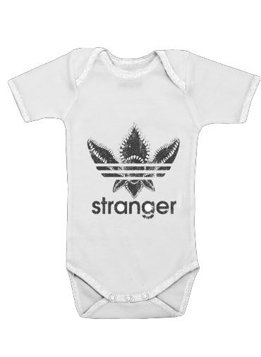 Stranger Things Demogorgon Monster JOKE Adidas Parodie Logo Serie TV für Baby Body