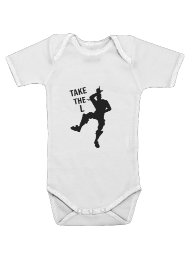 Take The L Fortnite Celebration Griezmann dla Baby short sleeve onesies