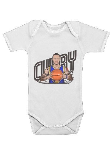 Baby Onesie The Warrior of the Golden Bridge - Curry30
