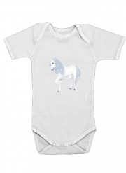 Baby Onesie The White Unicorn