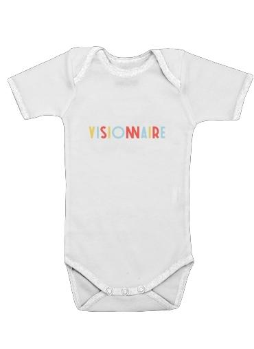 Visionnaire för Baby short sleeve onesies