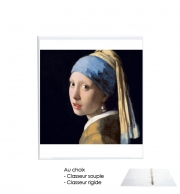 Binder Girl with a Pearl Earring