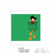 Binder Pocket Collection: Goku Dragon Balls