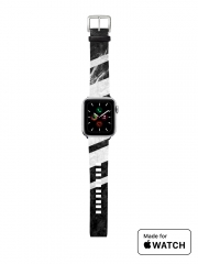 Bracelet pour Apple Watch Black Striped Marble