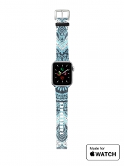 Bracelet pour Apple Watch Bohochic Mandala in Blue