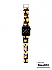 Bracelet pour Apple Watch funny smileys