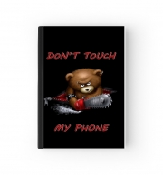 Cahier Don't touch my phone