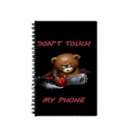 Cahier de texte Don't touch my phone