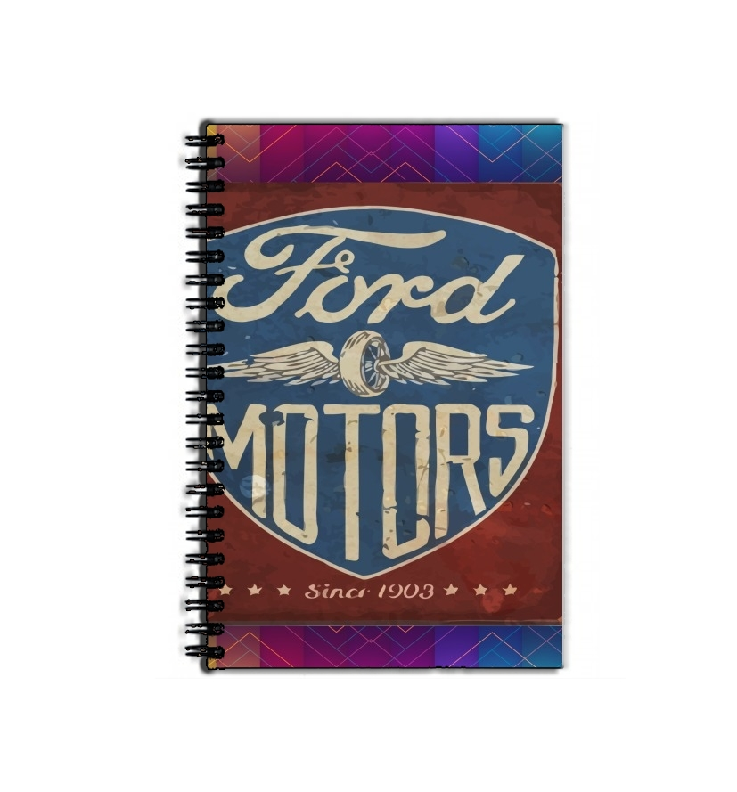 textbook school Motors vintage