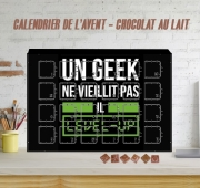 Calendrier de l'avent Un Geek ne vieillit pas il level up