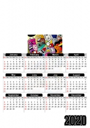 Calendrier Ca cartoon