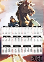 Calendrier Epona Horse with Link