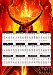 Calendrier Hellboy in Fire