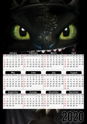 Calendrier Night fury