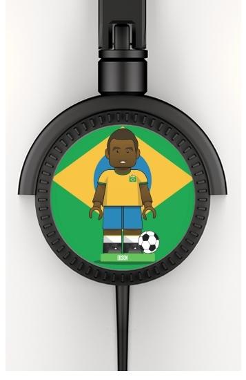 Bricks Collection: Brasil Edson voor hoofdtelefoon