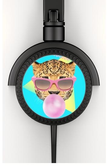 Bubble gum leo voor hoofdtelefoon