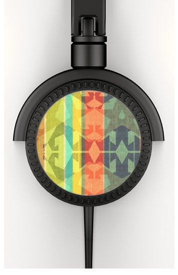 Headphone Stereo colourful design