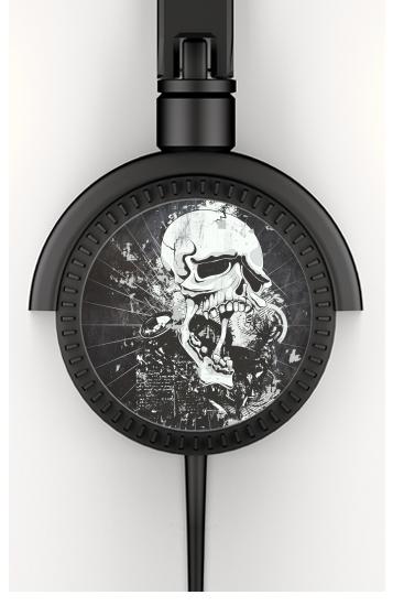 Dark Gothic Skull voor hoofdtelefoon