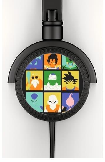 Dragon pop voor hoofdtelefoon
