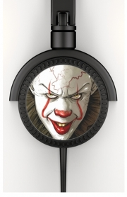 Headphone Stereo Evil Clown