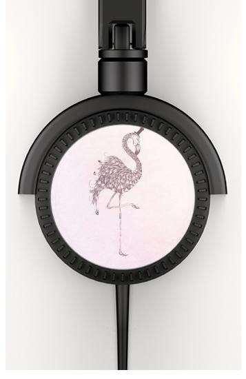 Flamingo voor hoofdtelefoon