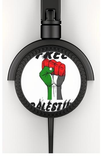 Free Palestine voor hoofdtelefoon