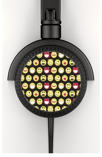 funny smileys voor hoofdtelefoon