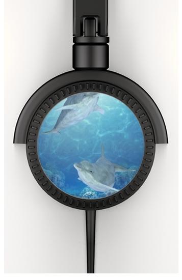 happy dolphins voor hoofdtelefoon