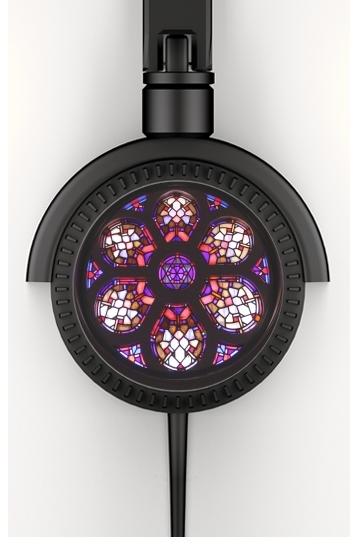 Iglesia del Valle Rosary Window voor hoofdtelefoon