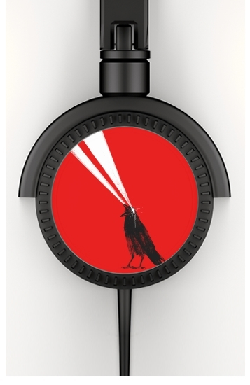 Laser crow voor hoofdtelefoon