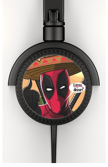 Mexican Deadpool for Stereo Headphones To custom