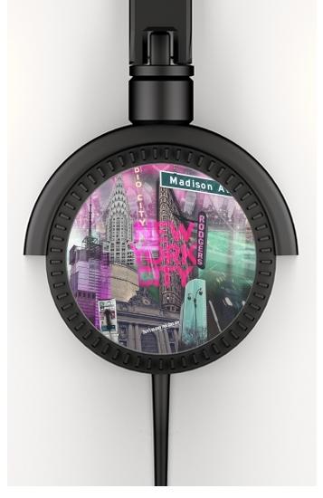 New York City II [pink] voor hoofdtelefoon