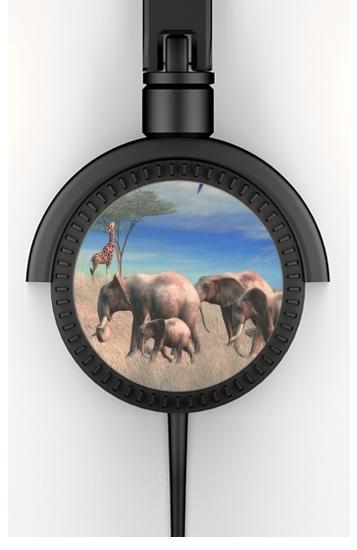 Safari voor hoofdtelefoon
