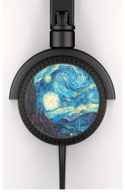 Headphone Stereo The Starry Night