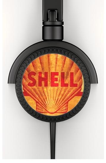 Vintage Gas Station Shell voor hoofdtelefoon