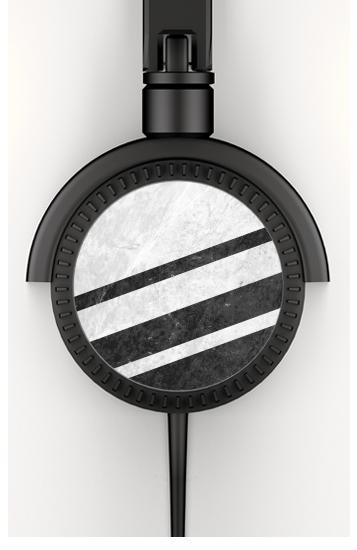 White Striped Marble voor hoofdtelefoon